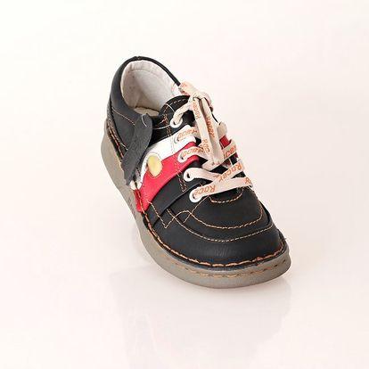 Dámská kožená vycházková obuv ROCER černá