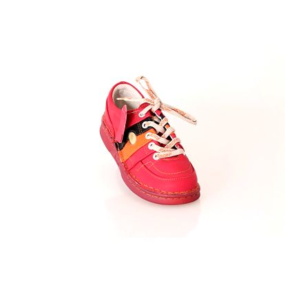 Dámská kožená vycházková obuv ROCER červená
