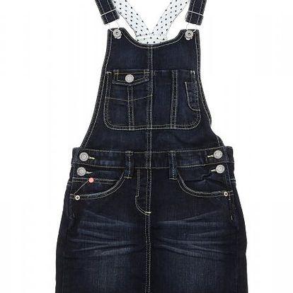 Moderní dívčí šaty s kšandami od světoznáme značky s.Oliver