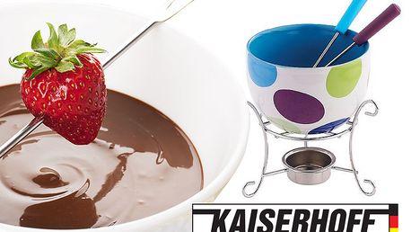 Barevné sady na čokoládové fondue