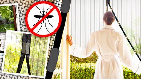 Magic Mesh: samozavírací síť proti hmyzu. 2 ks v balení!