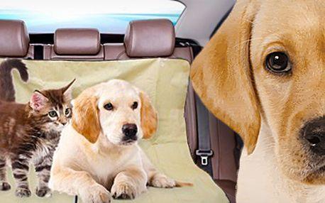 Deka do auta pro psy i kočky: chrání sedadlo a zaručí pohodlnější cestování!