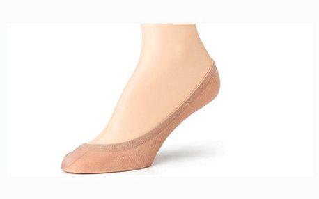 Čtyři páry dámských ponožek do balerínek za úžasnou cenu. Vybírejte ze dvou velikostí!