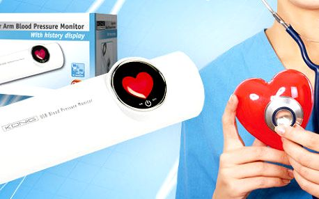 USB monitor krevního tlaku a pulzu König Electronic