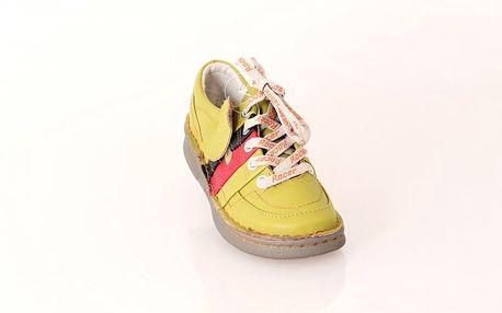 Dámská kožená vycházková obuv ROCER zelená