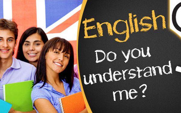 Letní kurzy anglického jazyka - lekce každý den - 1,5 hodiny ráno nebo večer po práci