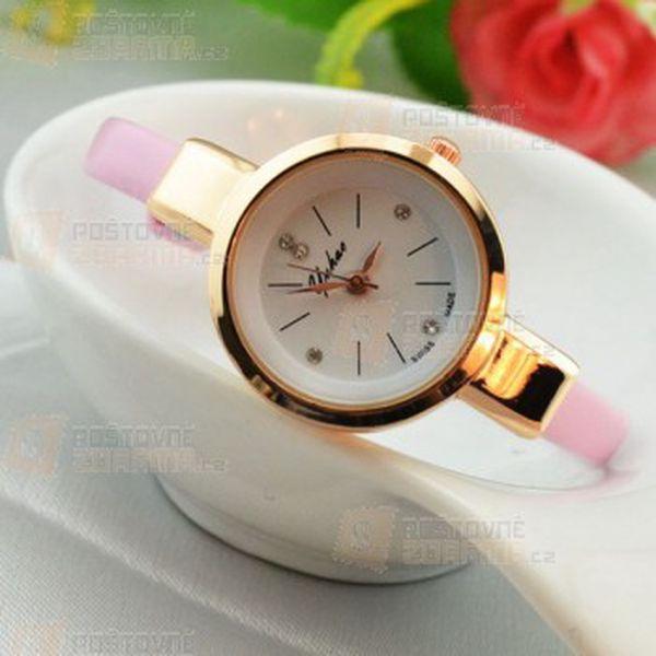 Dámské hodinky s úzkým páskem v elegantním provedení a poštovné ZDARMA! - 13109746