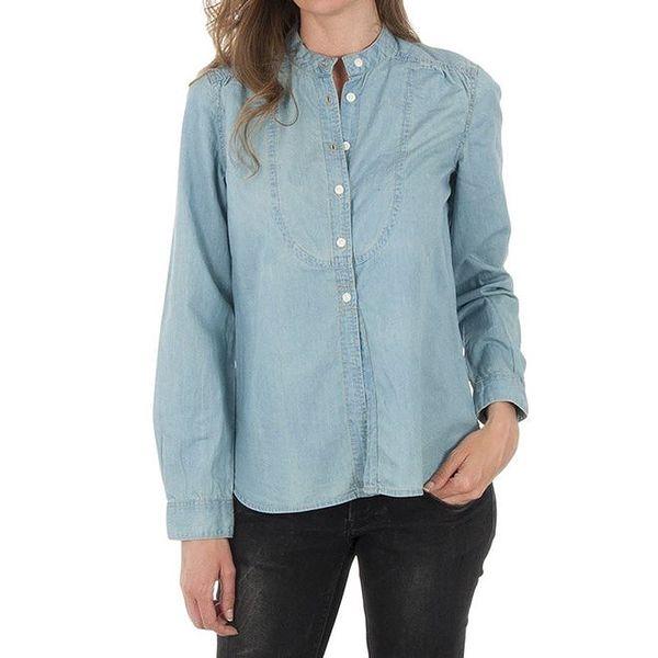 Dámská světle modrá džínová košile Tommy Hilfiger