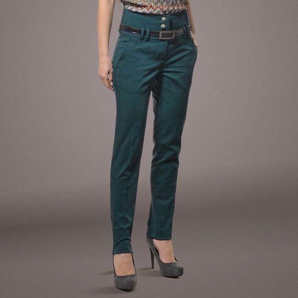 Dámské kalhoty se zvýšeným pasem Patricia Rado