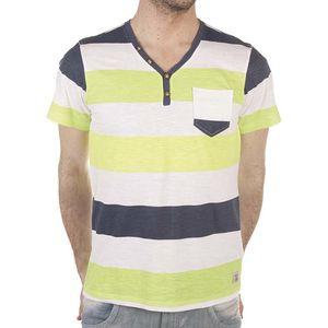 Pánské barevné bavlněné tričko s kapsičkou SixValves