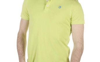 Pánské světle zelené polo tričko SixValves