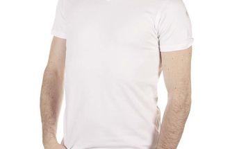 Pánské bílé tričko SixValves