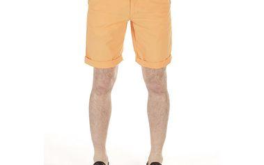 Pánské oranžové bavlněné šortky SixValves