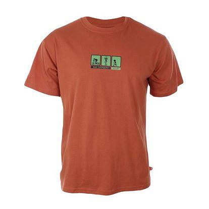 Pánské oranžové tričko Respiro