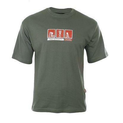 Pánské zelené tričko Respiro
