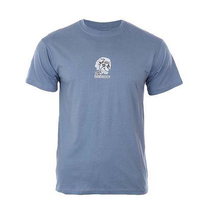 Pánské modré tričko s potiskem Respiro