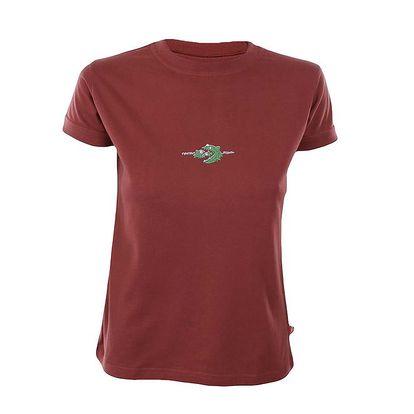 Dámské cihlově červené tričko Respiro