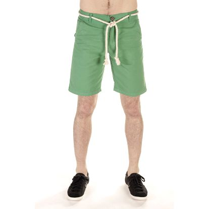 Pánské zelené šortky s provazem SixValves