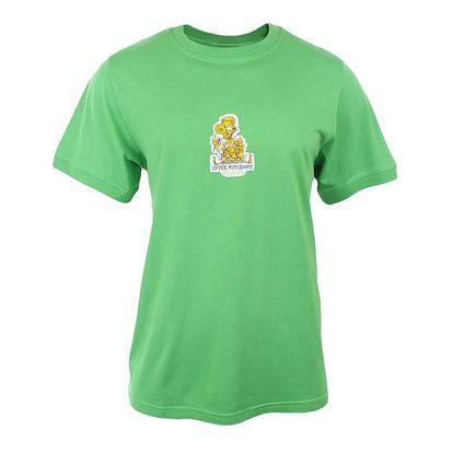 Pánské zelené tričko s potiskem Respiro