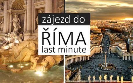 2580 Kč Řím a Vatikán ve dnech volna 8.5.-11.5.2014 POZNÁVACÍ ZÁJEZD Itálie SUPER Last Moment