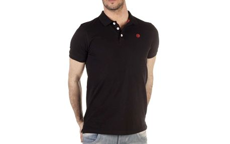 Pánské černé polo tričko SixValves