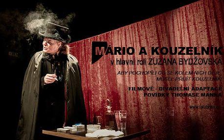 Vstupenka na představení MÁRIO A KOUZELNÍK - 27.4. v divadle LaFabrika