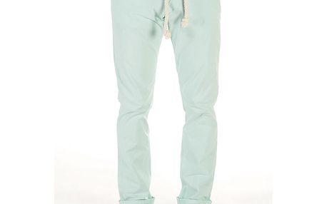 Pánské světle tyrkysové kalhoty SixValves