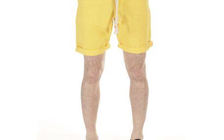 Pánské žluté šortky s provazem SixValves