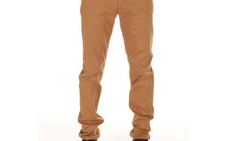 Pánské hnědo-oranžové kalhoty SixValves