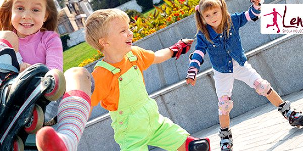 Lekce in-line bruslení pro děti od 4 do 15 let