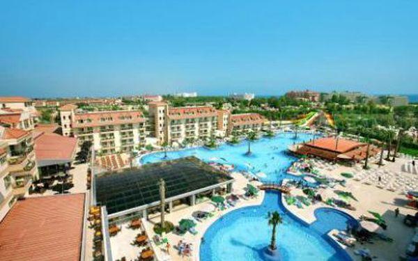 Turecko, oblast Side, ultra All inclusive, ubytování v 5* hotelu na 8 dní