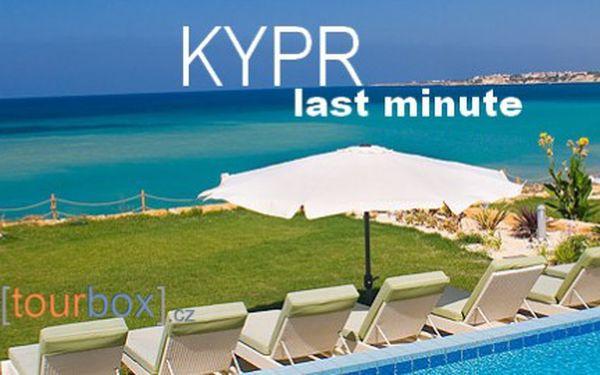 Kypr, letecky na 8 dní s polopenzí plus (včetně vína u večeří) od 9 990 Kč! A jako bonus získáte parkování u letiště za 90 Kč!