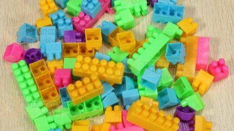Dětské plastové kostky - 80 kusů a poštovné ZDARMA! - 13509783