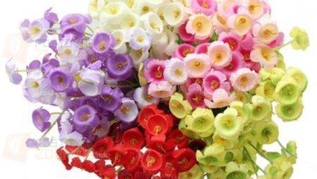 Umělé květiny Campanula a poštovné ZDARMA! - 13109779