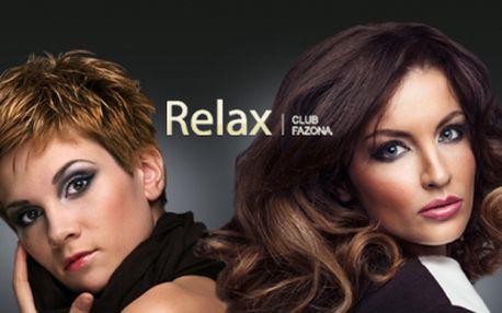 Exkluzivní KADEŘNICKÉ BALÍČKY již od 179 Kč v Relax clubu Hradčanská! Dokonalý STŘIH, luxusní MELÍR nebo nádherná objemová trvalá! Vyberte si se slevou až 76%!