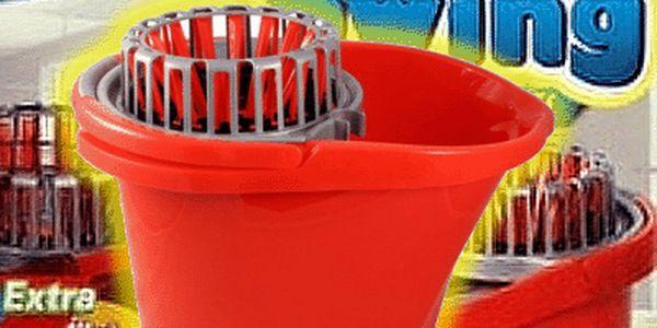 Kbelík s patentovaným ždímacím systémem pro pohodlný úklid