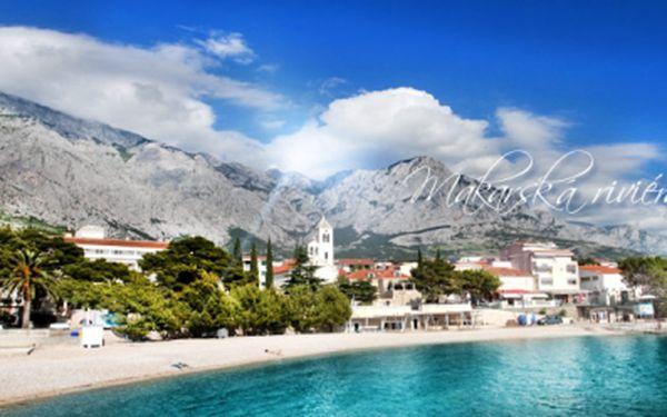 OSM DNÍ v Chorvatsku na Makarské riviéře se vším všudy již od 3690 Kč! Autobusová DOPRAVA, POLOPENZE a UBYTOVÁNÍ v apartmánech, v krásné části letoviska Baška Voda! Na výběr z mnoha atraktivních LETNÍCH TERMÍNŮ! Sleva 49%!