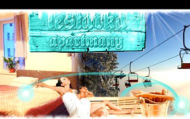 3 nebo 4 dny PRO DVA vapartmánech LESTARKA včetně POLOPENZE, se slevou až 46 %: Vstup do sauny, možnost využití venkovního bazénu, parkování u objektu, nedaleko horské středisko HARRACHOV a mnoho dalšího. Pohodový horský relax vblízkosti KRNAPu.