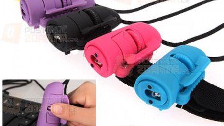 Optická myš na prst v pěti barevných provedeních a poštovné ZDARMA! - 12702861