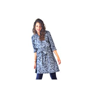Džínovinové šaty