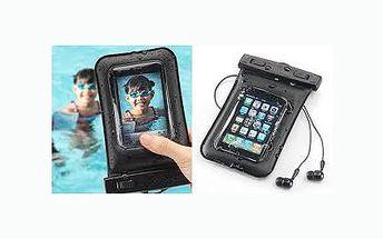 Praktický vodotěsný obal nejen pro chytré telefony! Dokonale ochrání váš telefon, foťák, MP3 přehrávač nebo kameru a skvěle ho využijete například pod hladinou bazénu či moře, při divokém sjíždění řeky či sjezdovky apod.