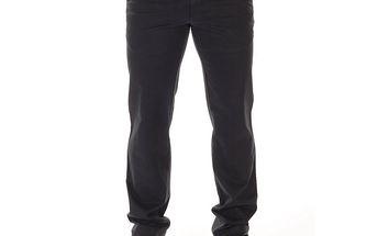 Pánské černé plátěné kalhoty Bendorff