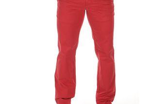Pánské rudé chinos kalhoty Bendorff