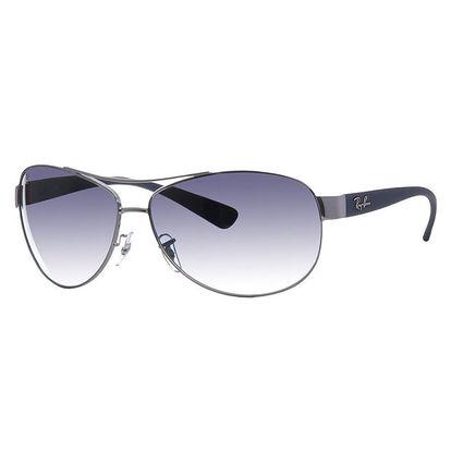 Oválné kovové brýle Ray-Ban se zatmavenými sklíčky