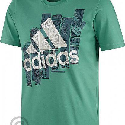 Módní pánské tričko Adidas Super Smash Blaze Green