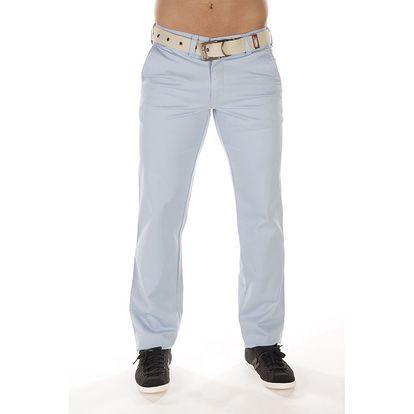Pánské světle modré chinos kalhoty Bendorff