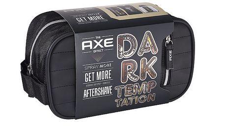 Axe toaletní taška Dark Temptation (deo 150ml+sprch.gel 250ml+voda po holení 100ml)