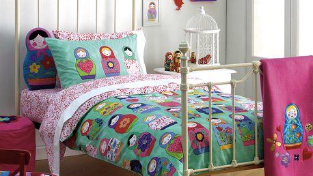 Povlak na postel Junior 120x150 cm a povlak na polštář 60x70 cm