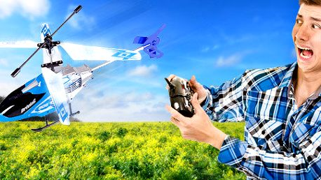 Mini helikoptéra Velocity