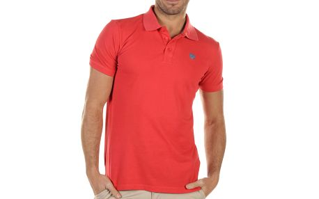 Pánské červené polo triko Bendorff